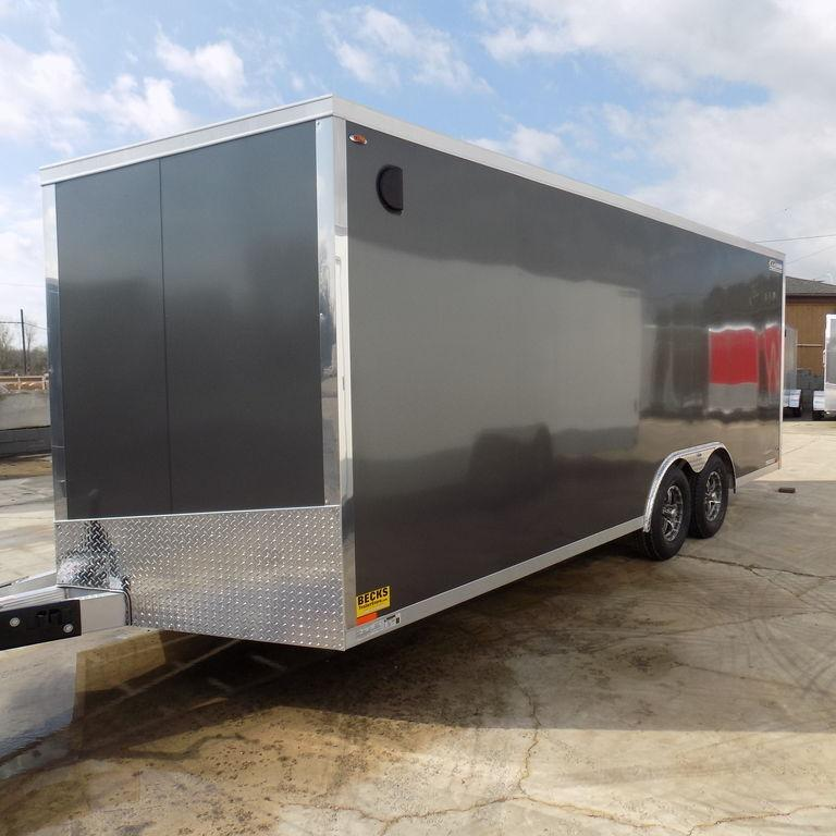 New Legend Explorer 8.5' X 22' Aluminum Enclosed Car Hauler For Sale-Payments $189/mo.