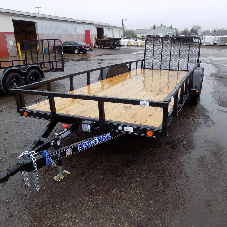 "New Load Trail UT 83"" x 20' Open Utility Trailer for Sale"