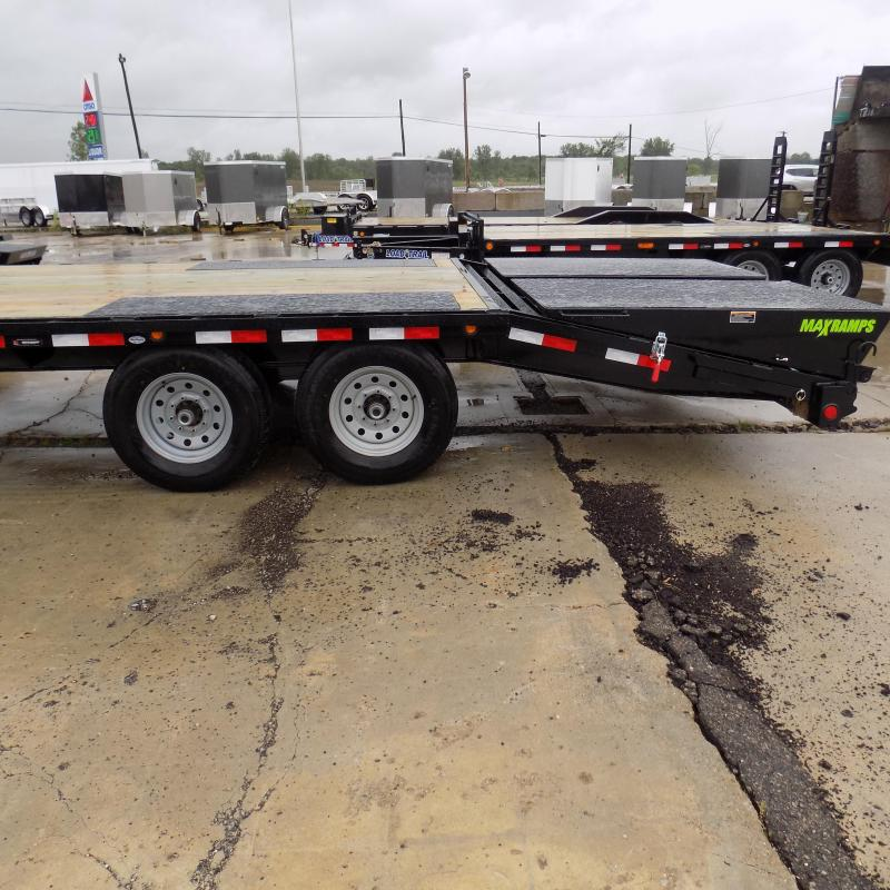 "New Load Trail 102"" x 20' Deckover Trailer With Max Ramps"