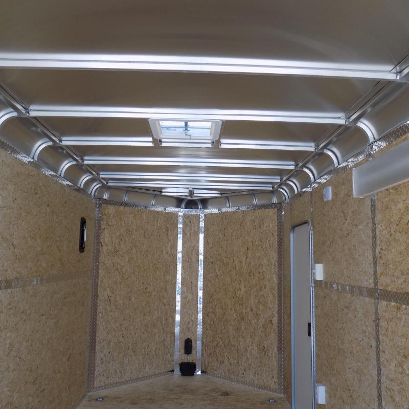 Legend Deluxe 7' x 19'  Aluminum Enclosed Cargo For Sale