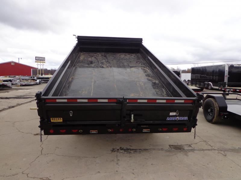 "New Load Trail 96"" x 16' Deckover Dump Trailer for Sale"