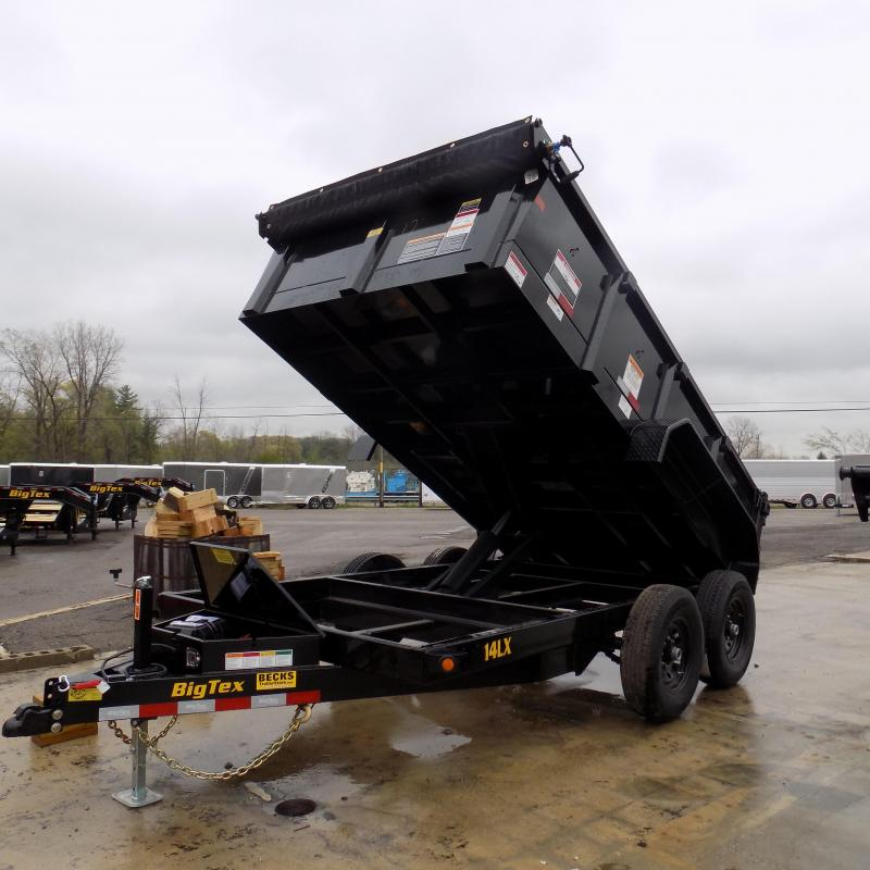 "New Big Tex 83"" x 12' Dump Trailer For Sale"