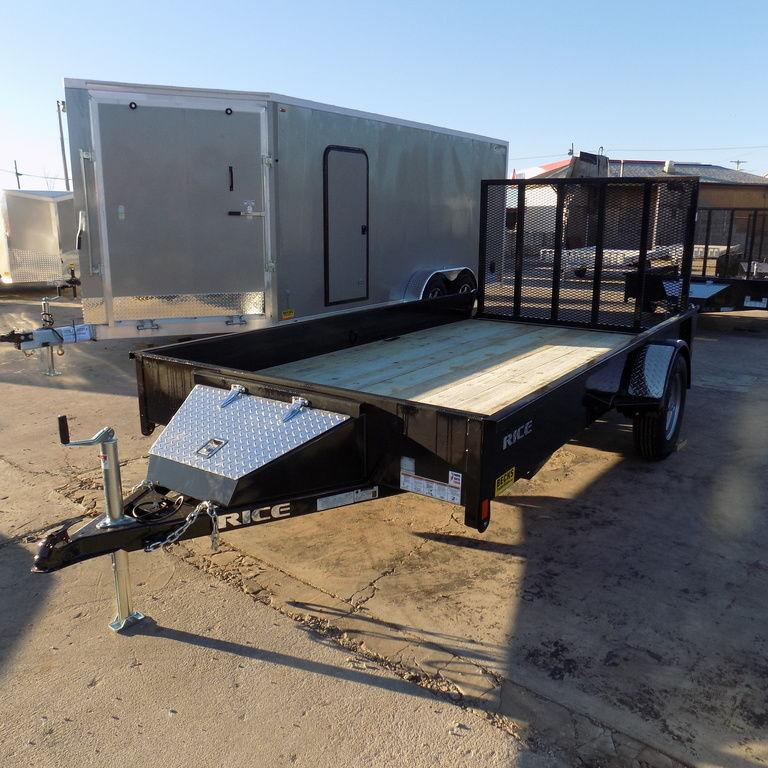 "New Rice Trailers Stealth 76"" x 12'-Payments of $59/mo."