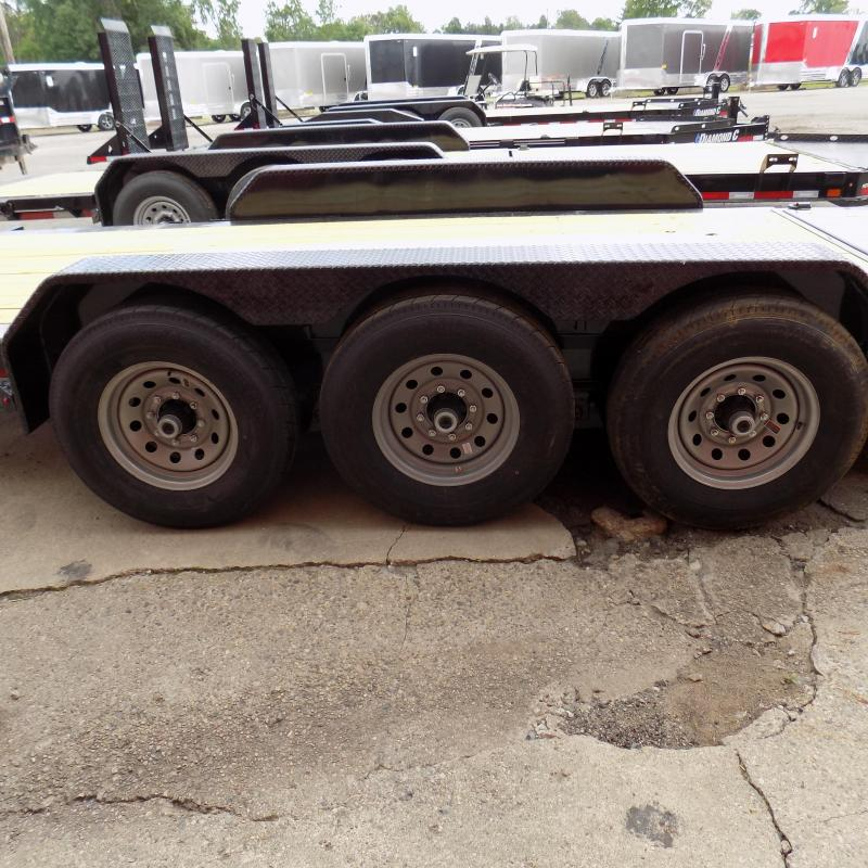 "New Diamond C Trailers 82"" x 22"" Tilt Deck Trailer - 24K Weight Rating"