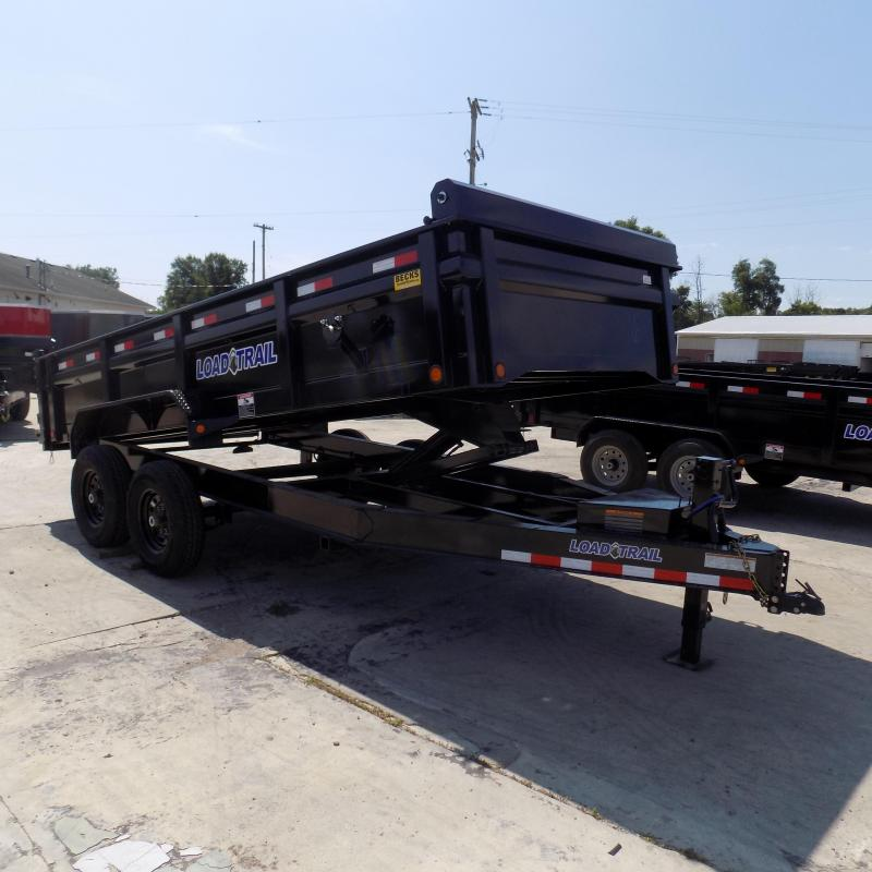 """New Load Trail 83"""" x 16' Dump Trailer For Sale"""