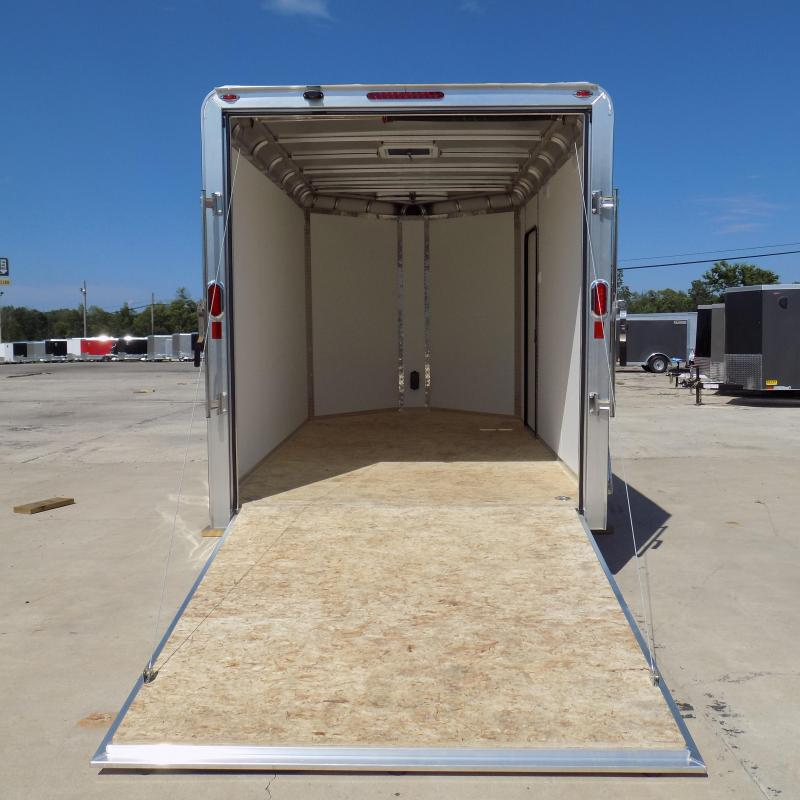 New Legend Trailers Deluxe V Nose 7' X 15' All Aluminum Enclosed Cargo Trailer
