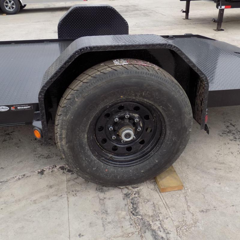 """New Load Trail 77"""" x 12' Tilt Deck Sccisor Hauler - 7K Torsion Axle"""