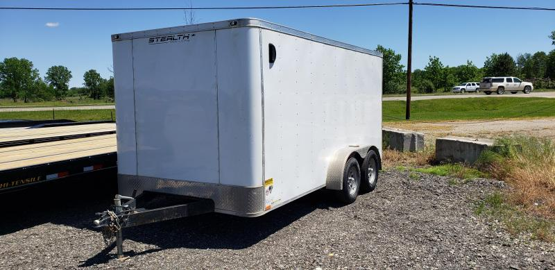 Used 2017 Stealth Trailers 7' x 14' Enclosed Cargo Trailer For Sale
