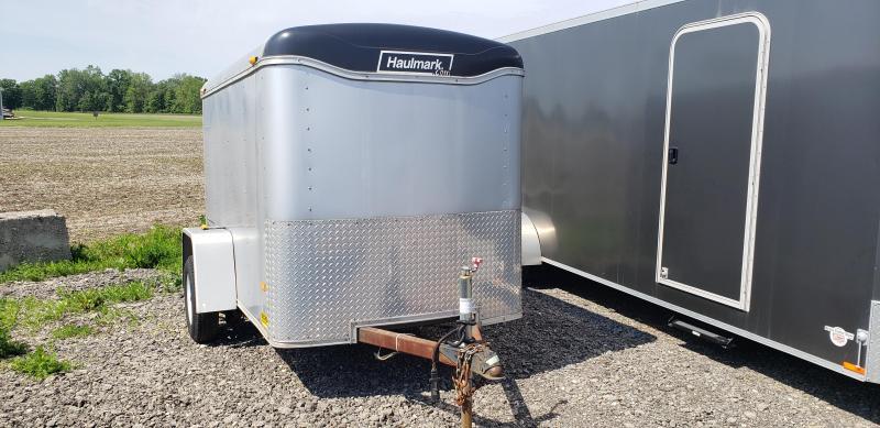 Used Haulmax 5' x 8' Enclosed Cargo Trailer for Sale