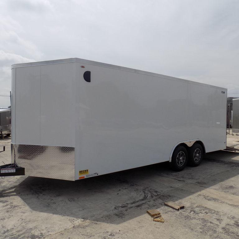 New Legend Cyclone 8.5' x 22' Enclosed Car Hauler - Many Similar Units On Sale