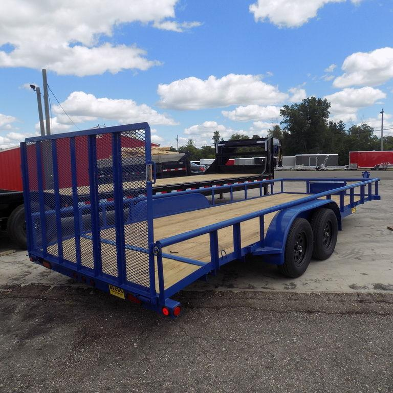 """New Load Trail UE07 83"""" x 20' Open Utility Trailer for Sale"""