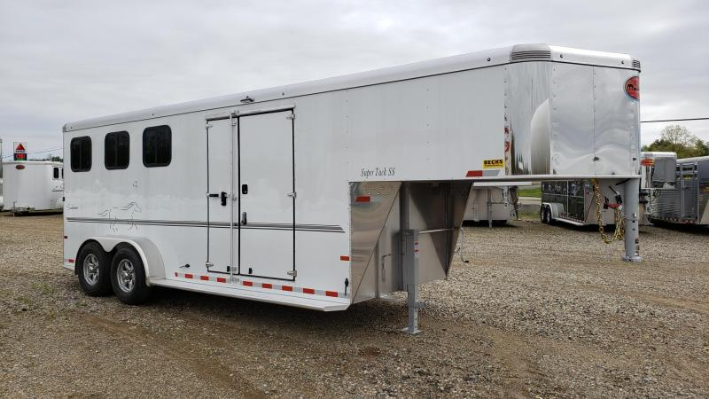 New Sundowner Super Sport Gooseneck 3 Horse Slant Load Trailer