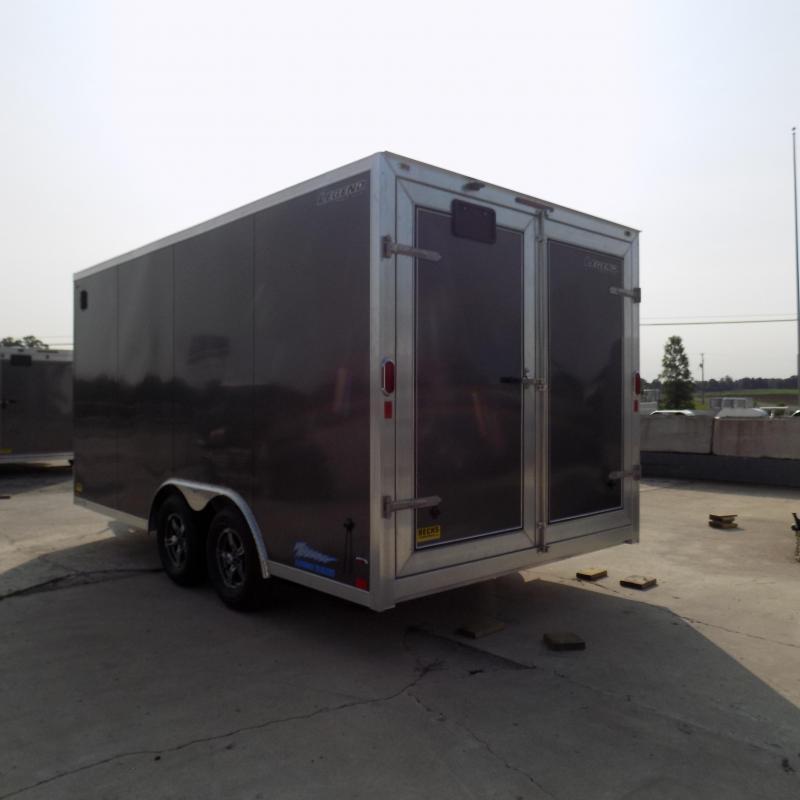 New Legend Thunder 8.5' X 18' All Aluminum Enclosed Cargo Trailer