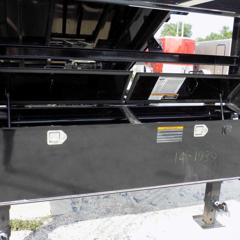 "New Load Trail 83"" X 14' Gooseneck Dump Trailer For Sale"