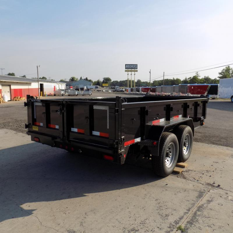 "New Top Hat Trailers 83"" x 14' Low Pro Dump Trailer For Sale"