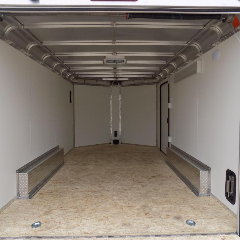 New Legend Deluxe V-Nose 8' x 17' Enclosed Cargo Trailer - Loaded With Features