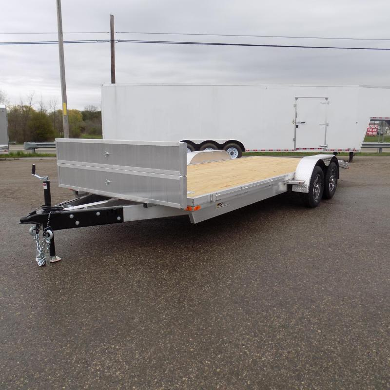 New Legend 7' x 20' Aluminum Open Car Hauler