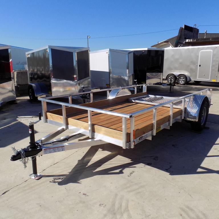 New Legend Trailers Aluminum Low Side 6X12ALLSSA30