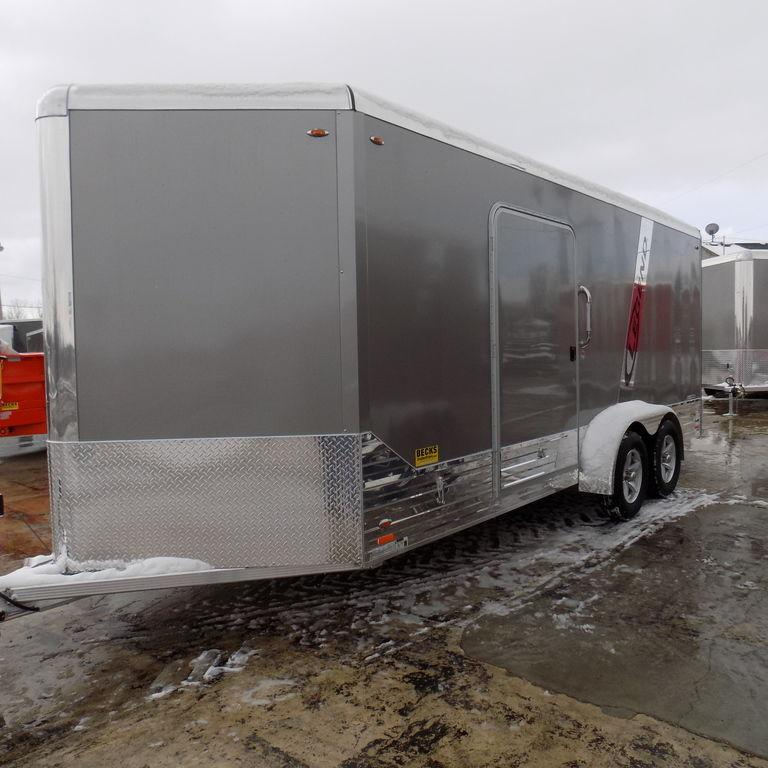 New Legend Deluxe 7' x 21' Aluminum Enclosed Trailer - On Sale