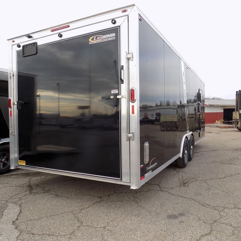 New Legend Trailmaster 8.5' x 30' Aluminum Enclosed Trailer