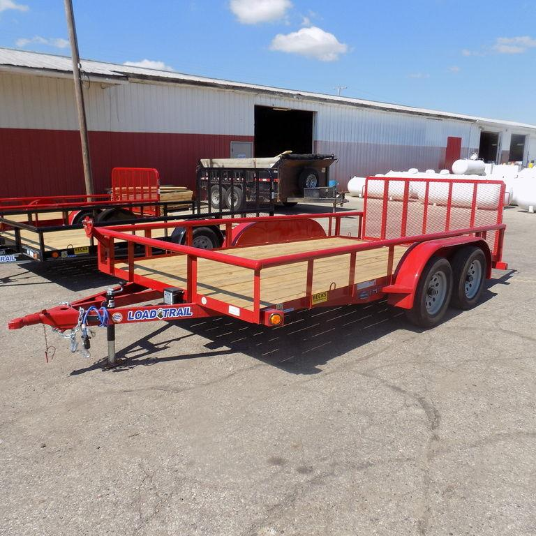 "New Load Trail UE07 83"" x 14' Open Utility Trailer for Sale"