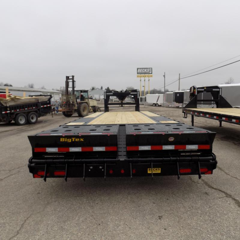 "New Big Tex 14GN 102"" x 20' + 5' Gooseneck Trailer For Sale"