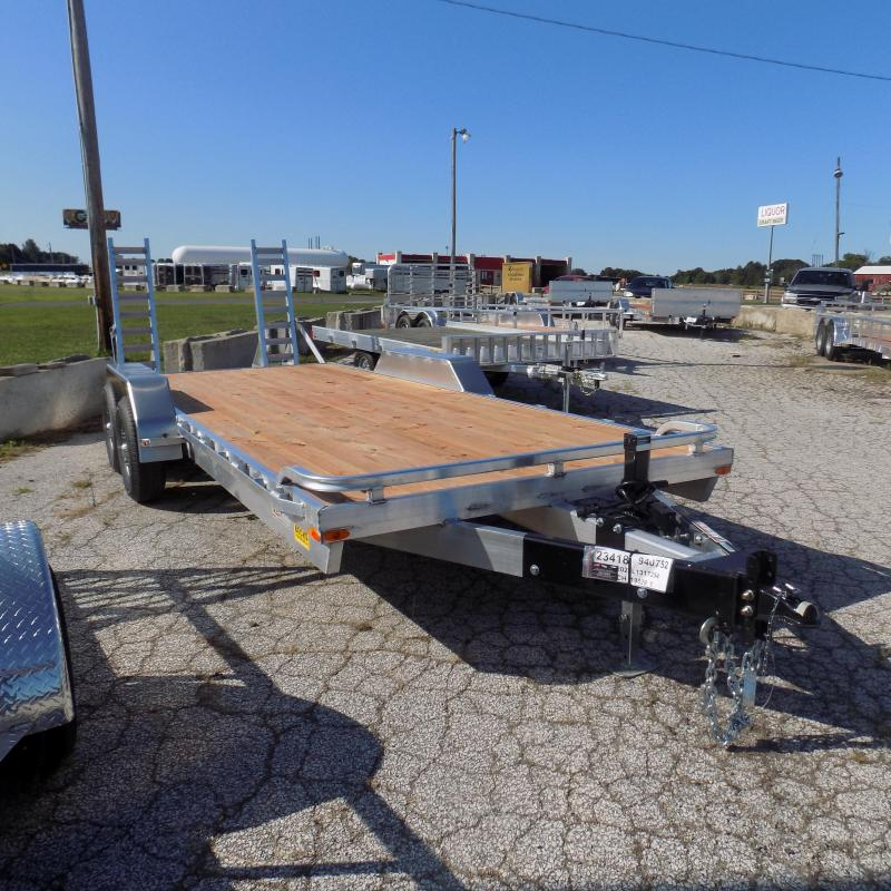 New Legend 7' x 20' Aluminum Equipment Trailer For Sale