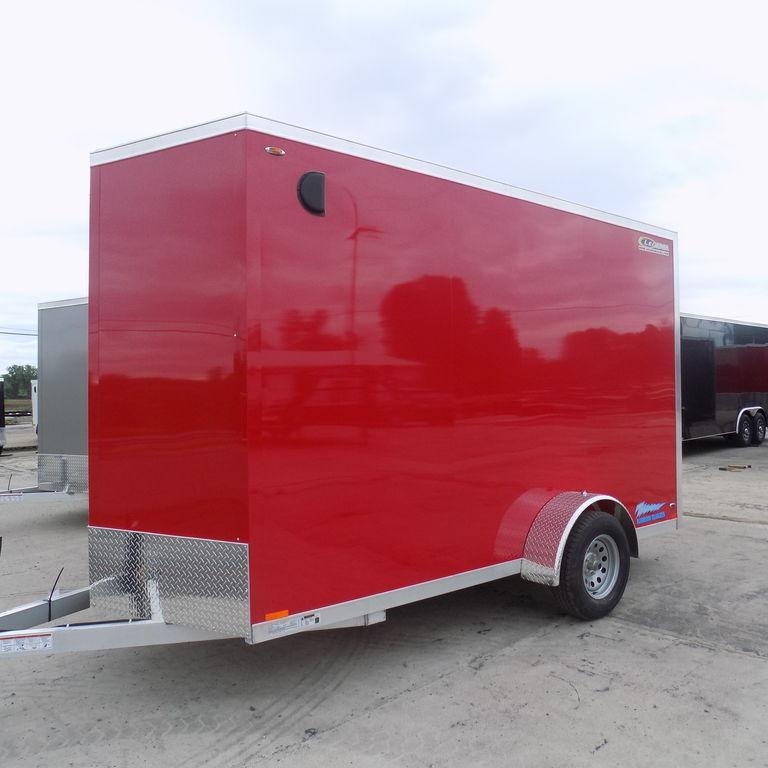 New Legend Trailers Thunder V Nose 6X13TVSA30-Payments of $89/mo.