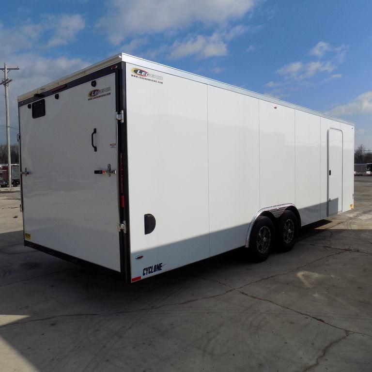 New Legend Cyclone 8.5' x 26' Enclosed Car Hauler / Cargo Trailer