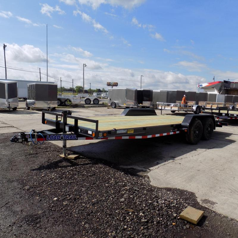 """New Load Trail 83"""" x 20' Open Car Hauler With 5200# Axles"""