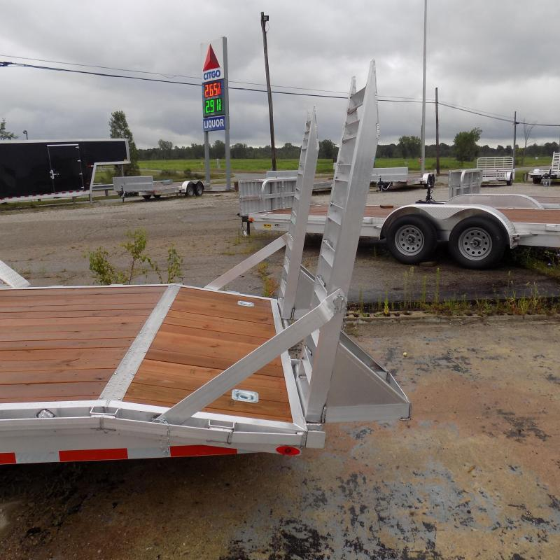 New Legend 7' x 22' Aluminum Equipment Trailer For Sale