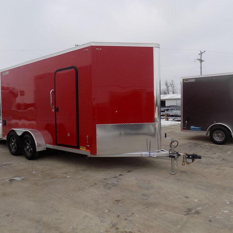 New Legend FTV 7' X 17' Aluminum Enclosed Trailer For Sale  in Ashburn, VA