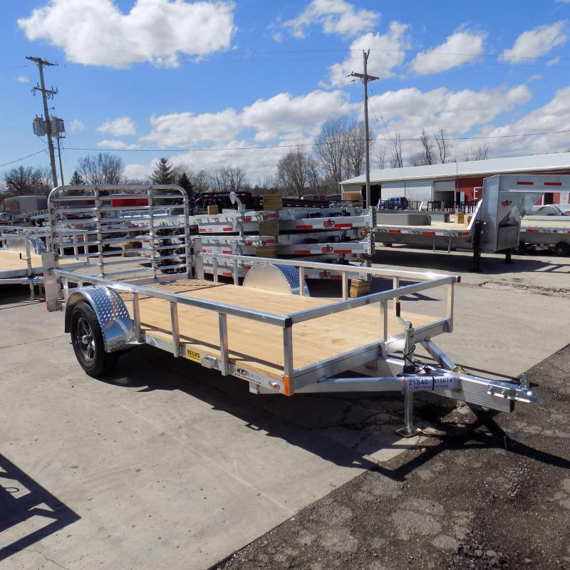 New Legend Open Deluxe 6' X 12' Aluminum Utility Trailer