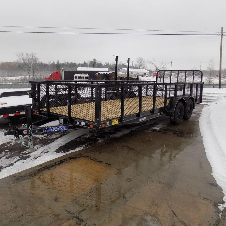 "New Load Trailer 83"" x 20' Utility Landscape Trailer for Sale"