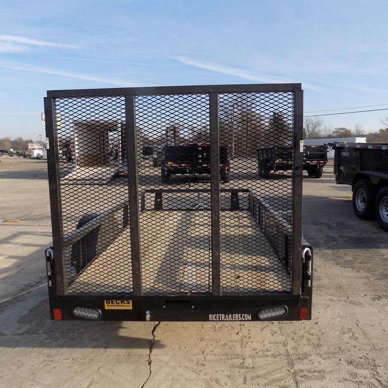 New Rice Trailers 5' x 10' Utility Trailer for Sale