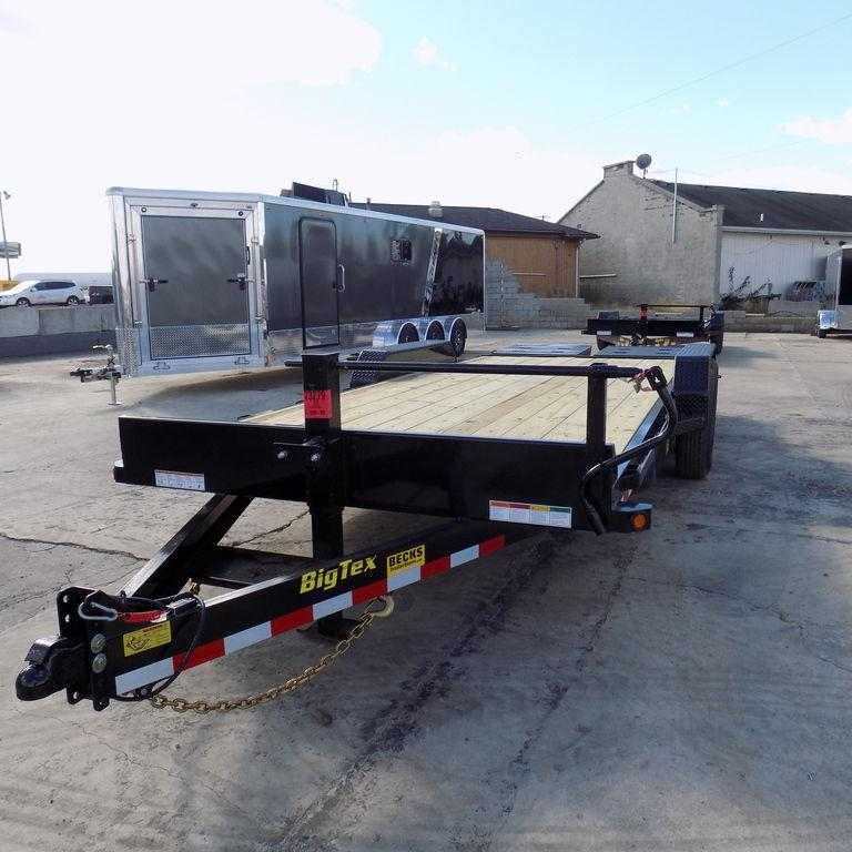 "New Big Tex 83"" x 20' Equipment Trailer w/ Mega Ramps"