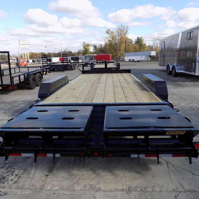 """New Big Tex 83"""" x 20' Equipment Trailer w/ Mega Ramps"""