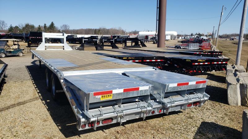 """New Galvanized 102"""" x 30' Gooseneck Trailer - Corrosion Resistant"""