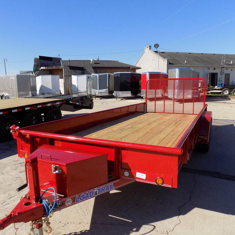 "New Load Trail UT07 83"" x 18' Open Utility Trailer for Sale"