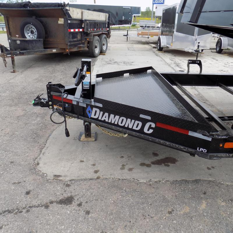 "New Diamond C 82"" x 14' Low Profile Dump Trailer - Awesome XL Tool Box"