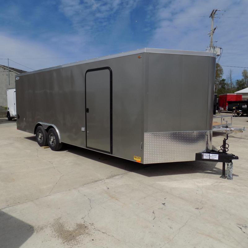 New Legend Cyclone 8.5 Enclosed Cargo/Contractor Trailer - Torsion Axles
