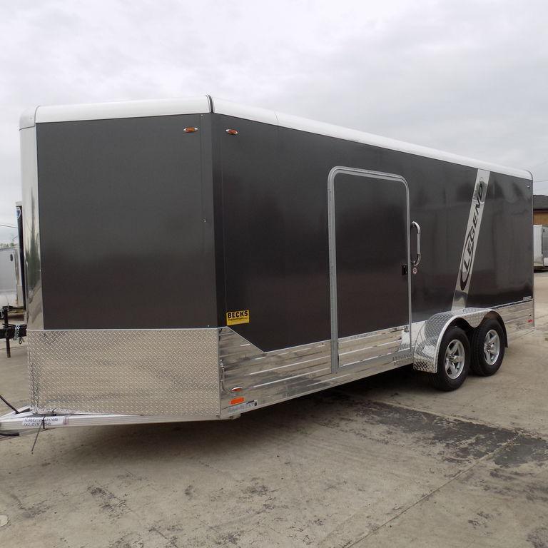 2018 Legend Trailers Deluxe V Nose Cargo 7X21DVNTA35