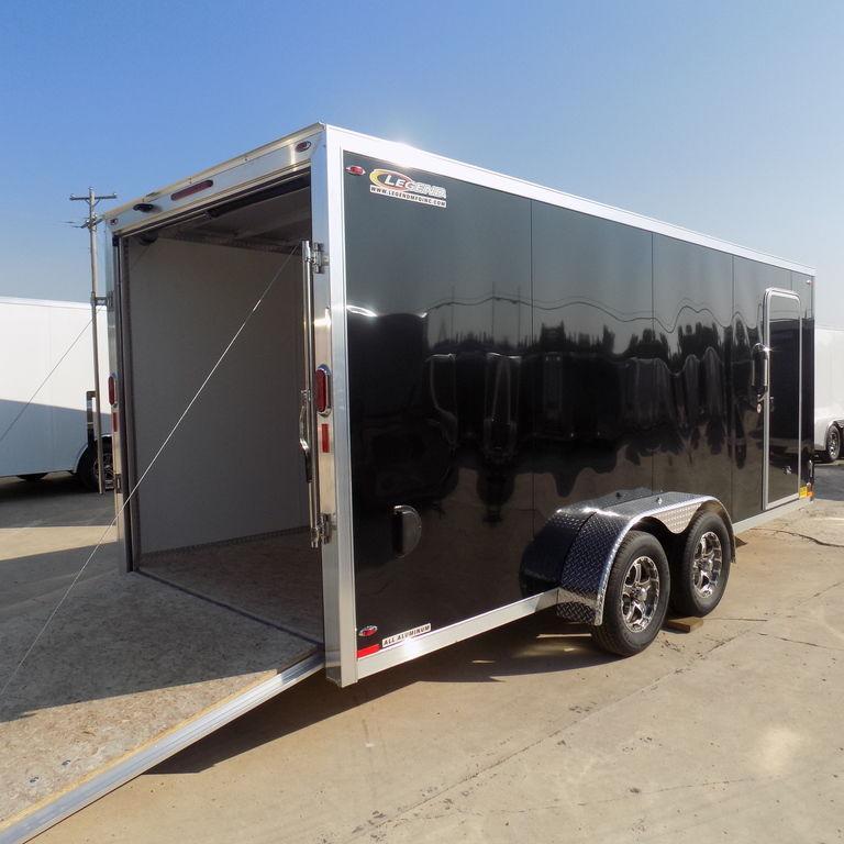 New Legend FTV 7' X 21' Enclosed Aluminum Cargo Trailer For Sale
