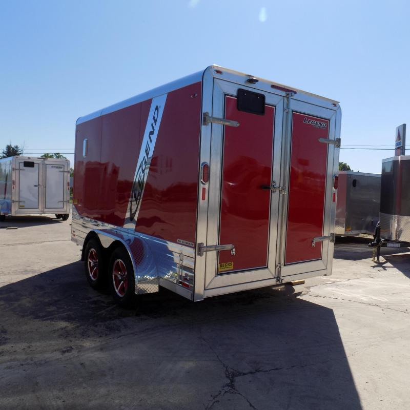 New Legend Deluxe V Nose 7' X 15' All Aluminum Enclosed Cargo Trailer For Sale