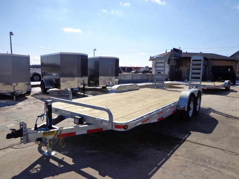 "New Galvanized 83"" x 18' Open Car Hauler! EASY FINANCING CALL FOR BEST DEAL GUARANTEE!!! in Ashburn, VA"