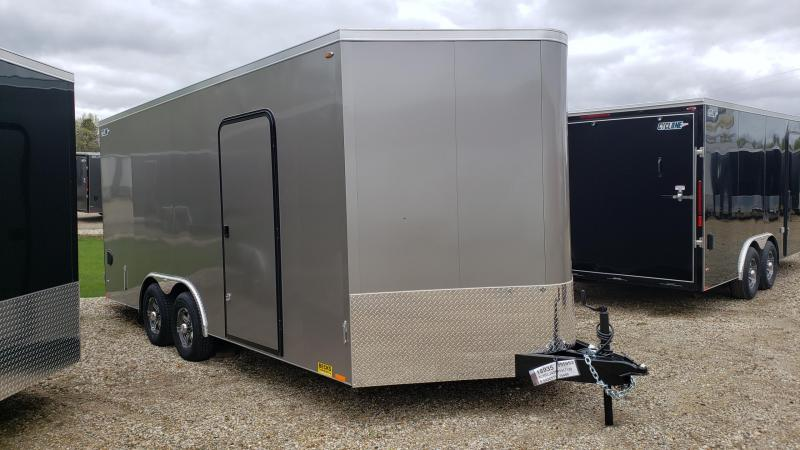 New Legend Cyclone 8.5' x 20' Enclosed Cargo/Contractor Trailer