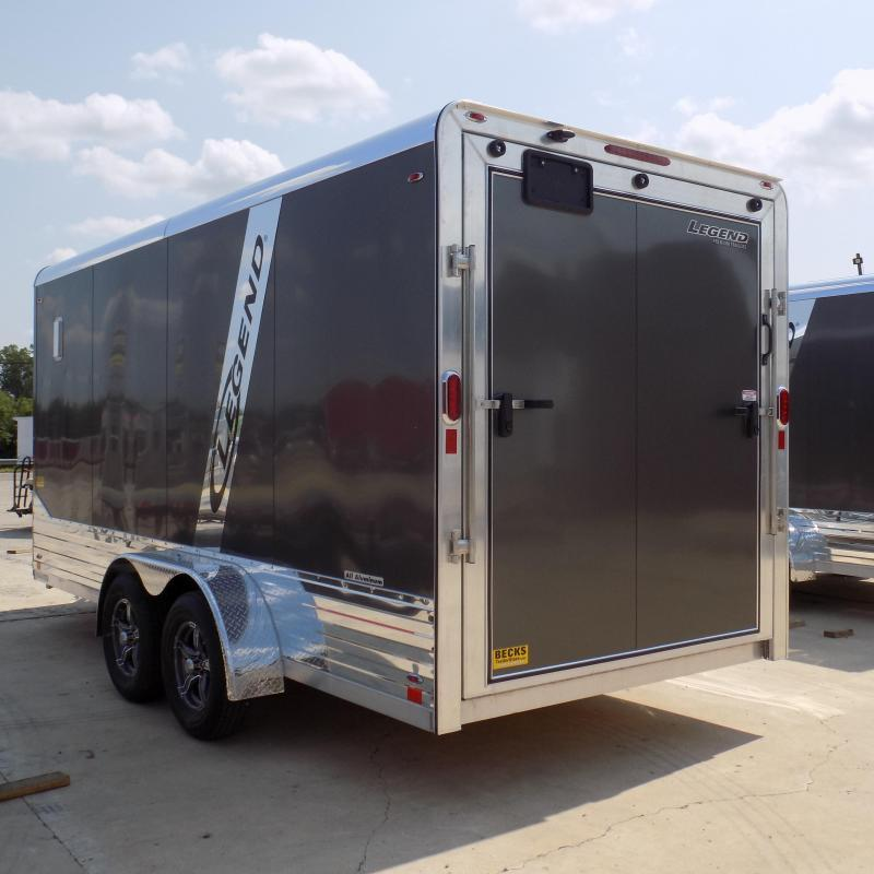 Legend Deluxe 7' x 19'  Aluminum Enclosed Cargo For Sale
