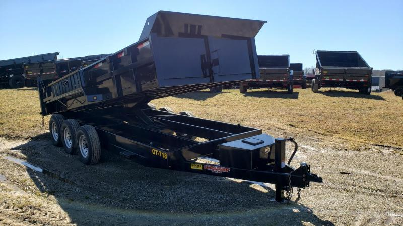 New DuraDump 7' x 18' Triple Axle Dump