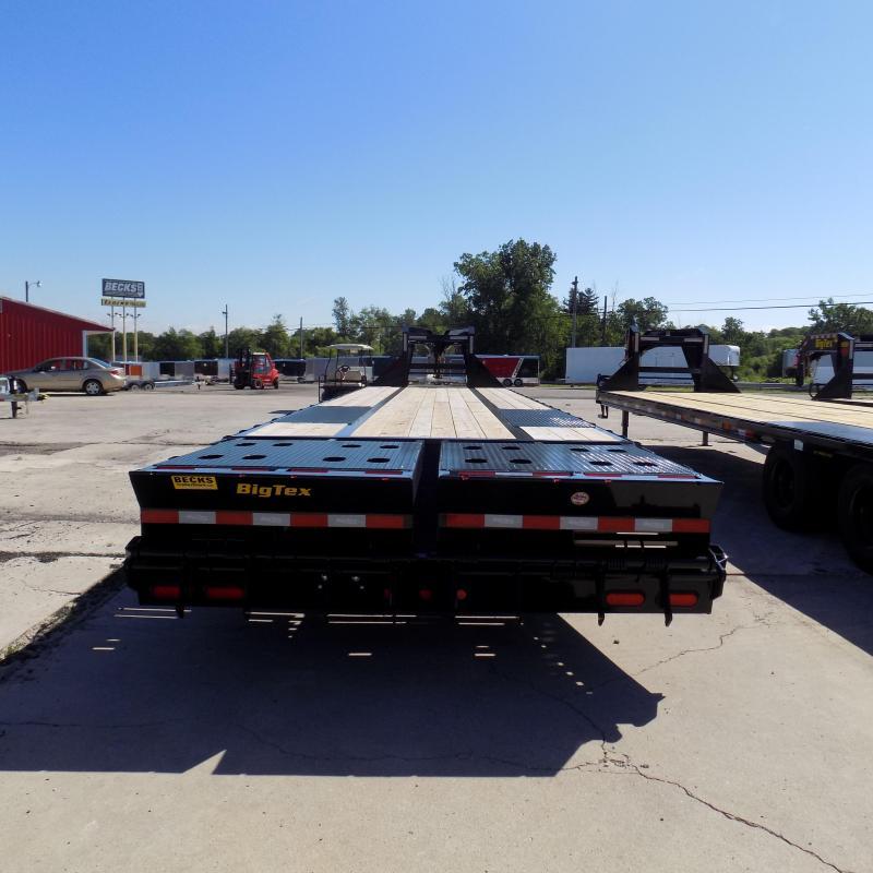 "New Big Tex 102"" x 30' + 5' Gooseneck Trailer With MEGA Ramps"