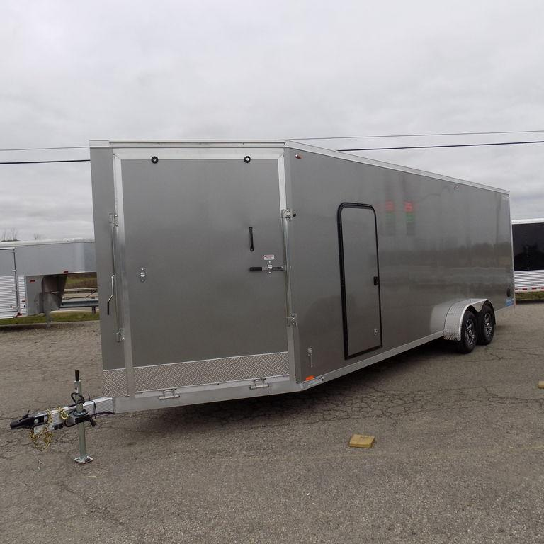 New Legend Thunder 7' x 29' Aluminum Snow / ATV Trailer For Sale